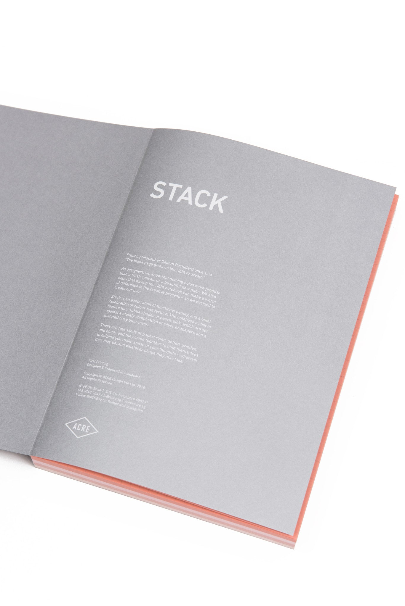 Stack Notebook (2017)