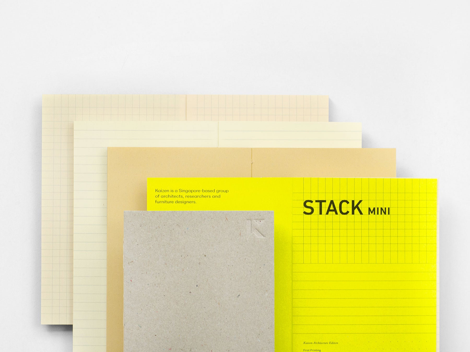 Stack mini Notebook (Kaizen Edition)