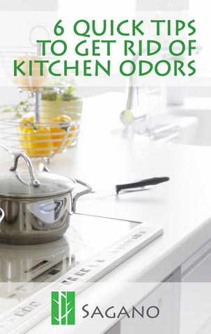 6 tips to get rid of kitchen odors