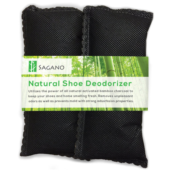 Natural Shoe Deodorizer Uses Activated Charcoal