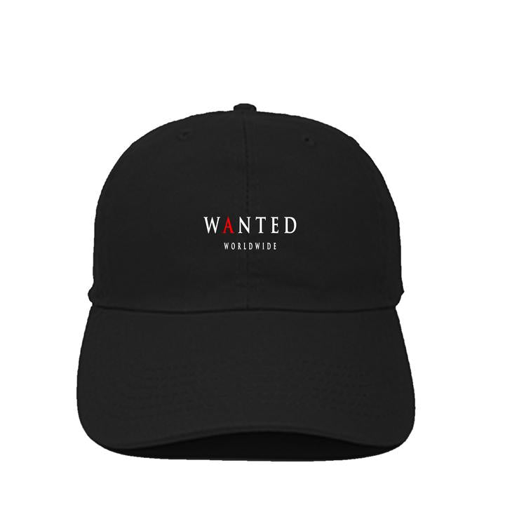 BLACK SIGNATURE LOGO DAD HAT