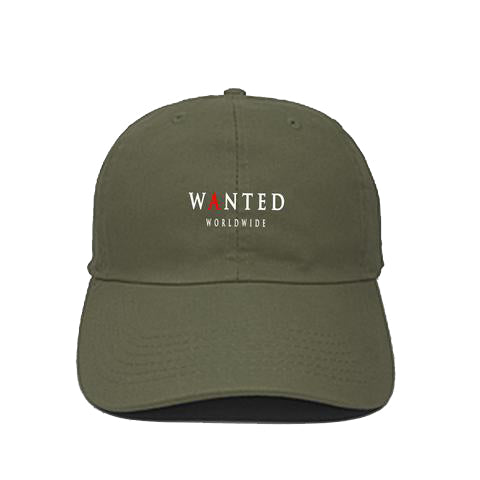 OLIVE SIGNATURE LOGO DAD HAT