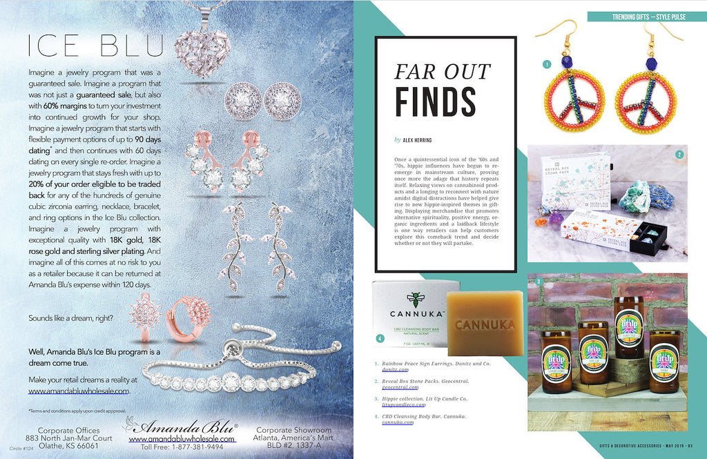 May 2019 Gifts & Decorative Accessories feature spread