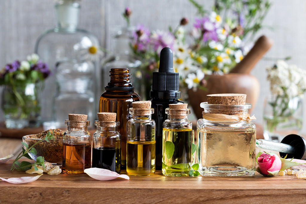 fragrance oils and essential oils
