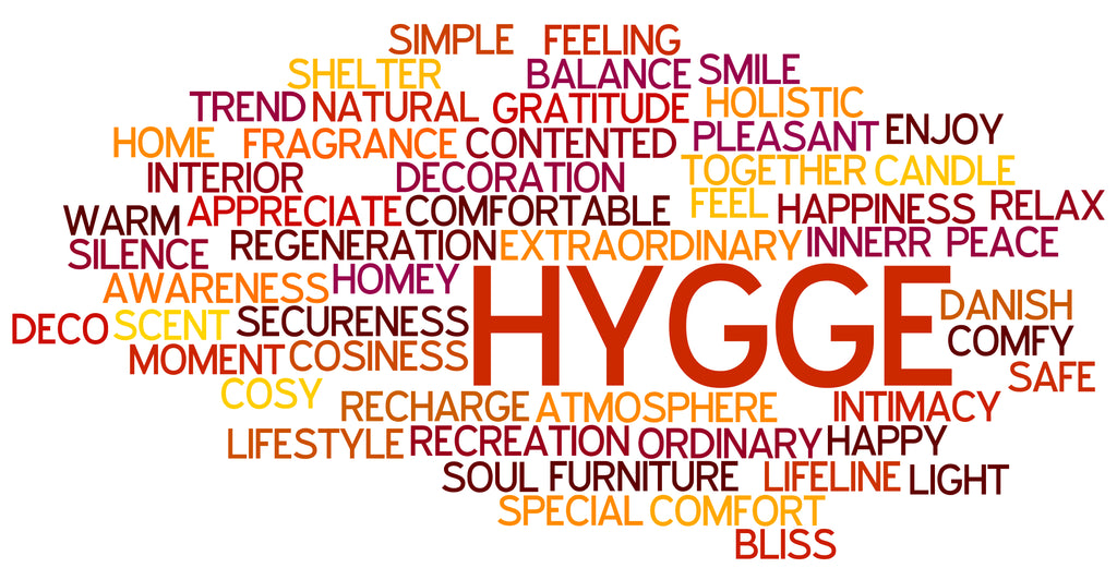 hygge word cluster