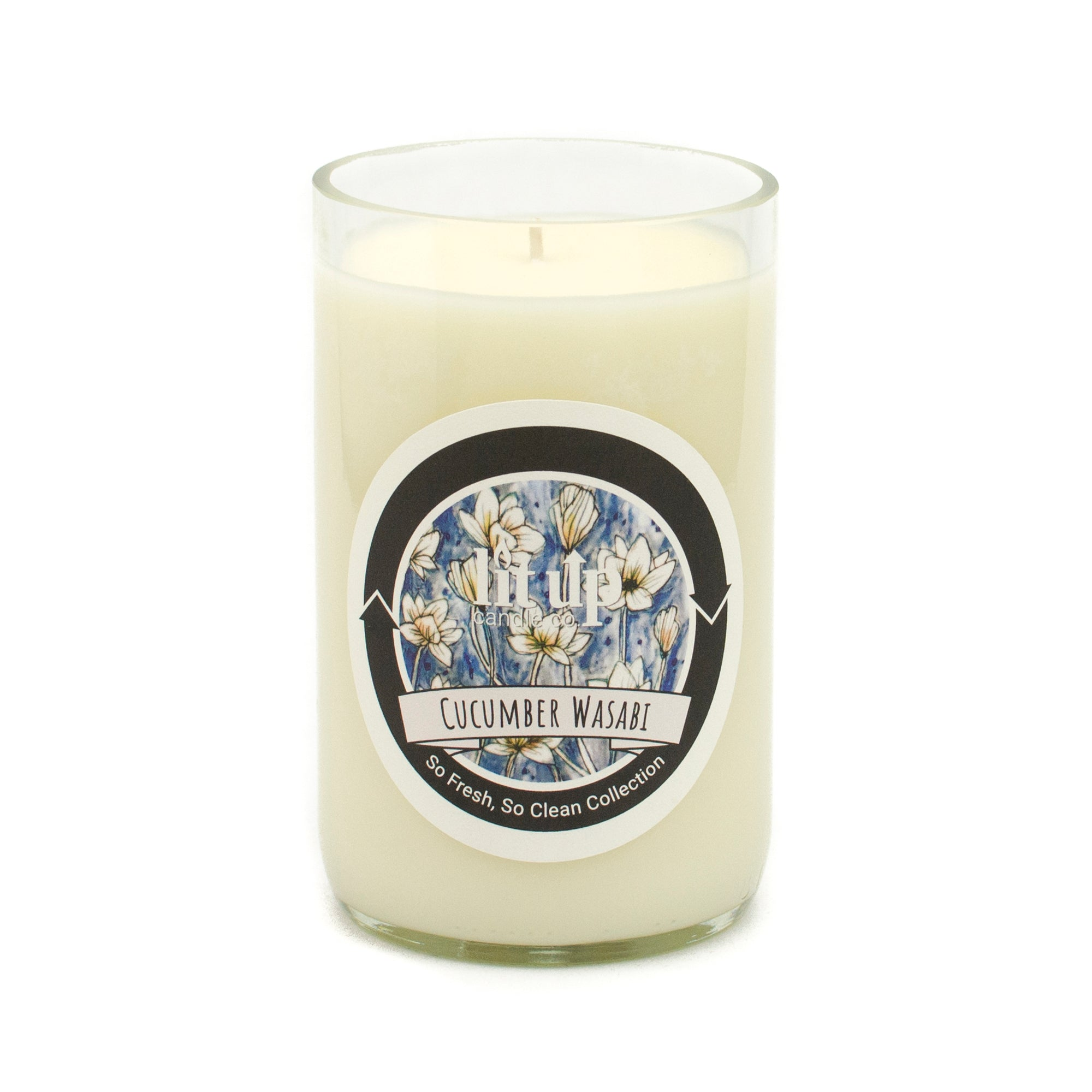 Cucumber Wasabi 12 oz. Soy Candle