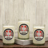 Tack Box 12 oz. Soy Candle in Upcycled Wine Bottle