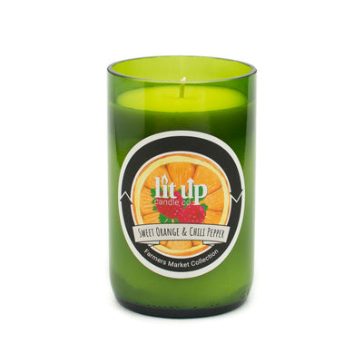 Sweet Orange & Chili Pepper Soy Candle