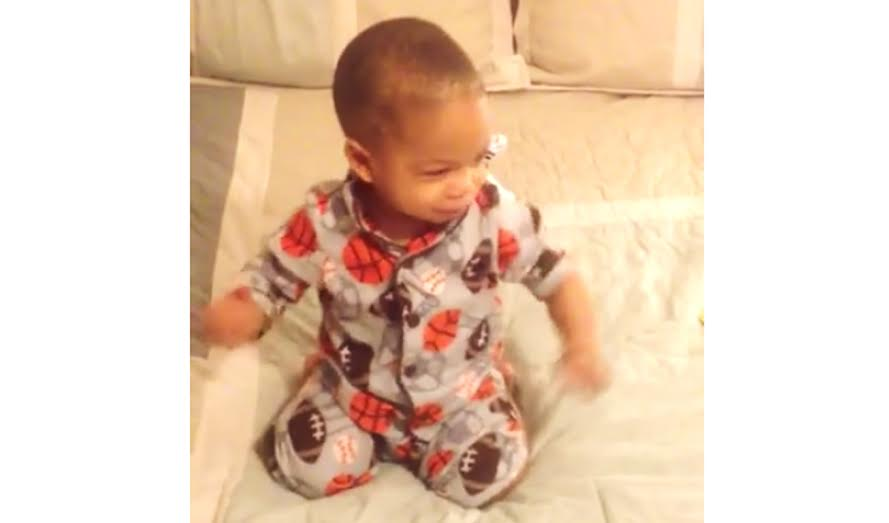BABY Woke Up Dancing at Bruno Mars' Runaway Baby