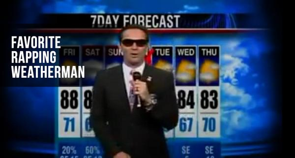 Teh Rapping Weatherman