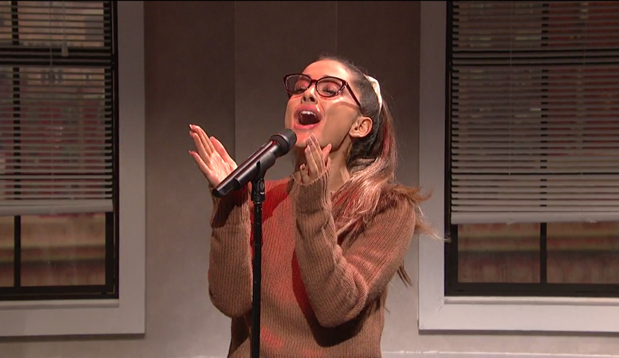 Ariana Grande on SNL