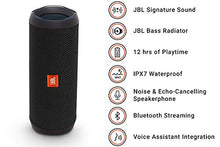 Load image into Gallery viewer, JBL Flip 4 Bluetooth Portable Stereo Speaker