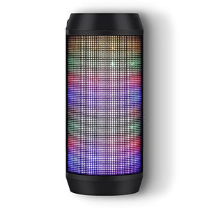 Lighted Multicolor Bluetooth Speaker with Microphone