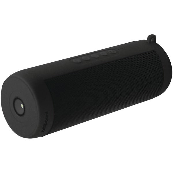 Waterproof Bluetooth(R) Speaker with LED Light (Black)