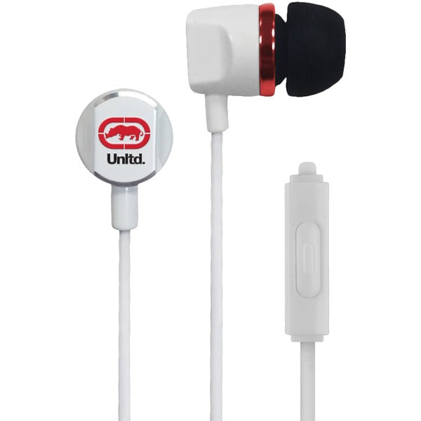 Royce Earbuds with Microphone (White)