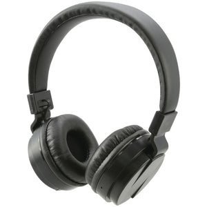 Bluetooth(R) Wireless Headphones with Microphone (Black)