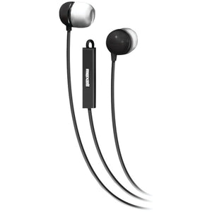 Stereo In-Ear Earbuds with Microphone & Remote (Black)