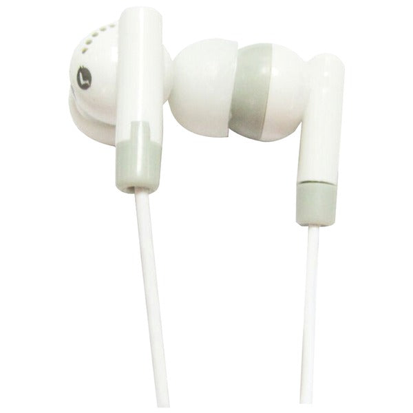 IQ-101 Digital Stereo Earphones (White)