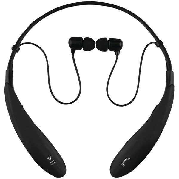 IQ-127 Bluetooth(R) Headphones with Microphone (Black)
