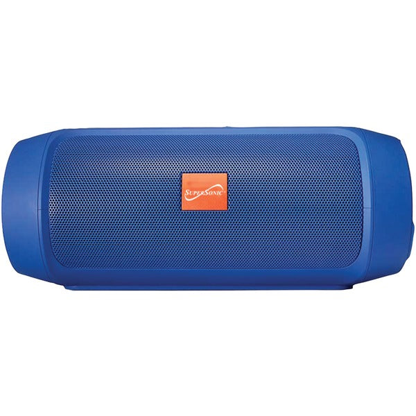 7-Inch Portable Bluetooth(R) Rechargeable Speaker (Blue)