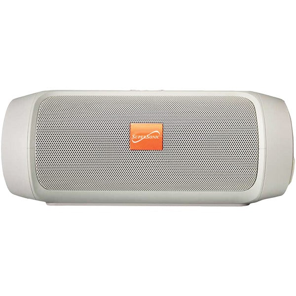 7-Inch Portable Bluetooth(R) Rechargeable Speaker (Silver)