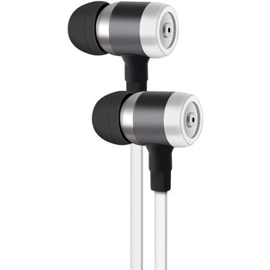 PE50 In-Ear Stereo Earbuds with Microphone (White)