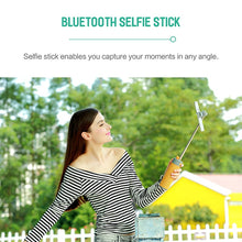 Load image into Gallery viewer, Wireless Bluetooth Speaker with Selfie Stick