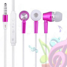 Load image into Gallery viewer, Metallic Luminous Wired In-Ear Headphone