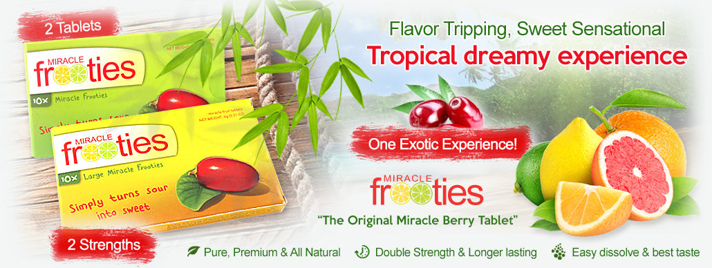 Miracle Berry Tablets Promotional image