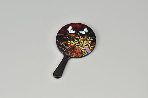 "Hand Mirror ""Lacquer craft Princess Hand Mirror Miyabino"" - JapaneseGoods.jp - 1"