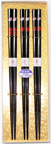 "Chopsticks ""3piece Sushi Chopsticks Gift boxed set 22.5cm"" - JapaneseGoods.jp - 1"