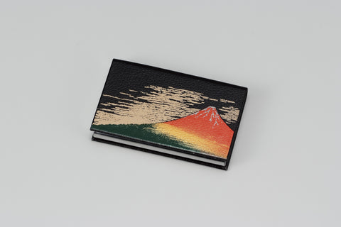 "Card Case ""Lacquer Craft Card Case AkaFuji (B)"" - JapaneseGoods.jp - 1"