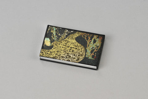 "Card Case ""Lacquer Craft Card Case Kourinbai"" - JapaneseGoods.jp - 1"