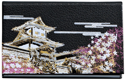"Card Case ""Lacquer Craft Card Case Ishikawamon (B)"" - JapaneseGoods.jp"