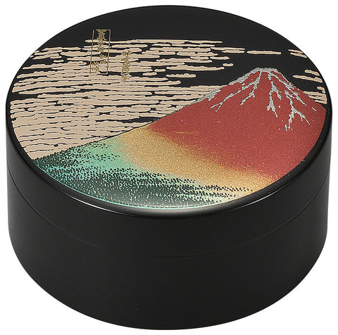 "Accessory Case ""Lacquer Craft 3.0 Accessory Case AkaFuji"" - JapaneseGoods.jp"
