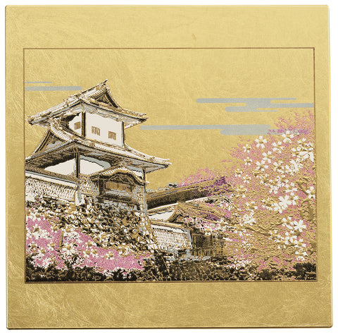 "Mouse Pad ""Lacquer Craft Mouse pad Ishikawamon (G)"" - JapaneseGoods.jp"
