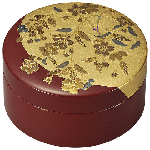 "Accessory Case ""Lacquer Craft 3.0 Accessory Case Sakura"" - JapaneseGoods.jp"
