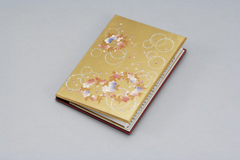 "Address Book ""Lacquer craft Address Book Karin"" - JapaneseGoods.jp"