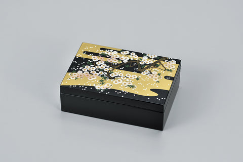 "Accessory Case ""Lacquer Craft Accessory Case Miyabizakura"" - JapaneseGoods.jp - 1"