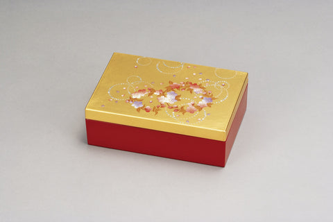"Accessory Case ""Lacquer Craft Accessory Case Karin"" - JapaneseGoods.jp - 1"