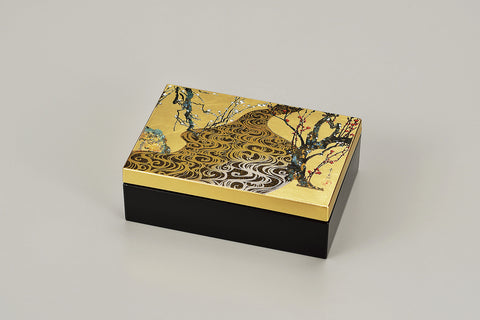 "Accessory Case ""Lacquer Craft Accessory Case Kourinbai"" - JapaneseGoods.jp - 1"