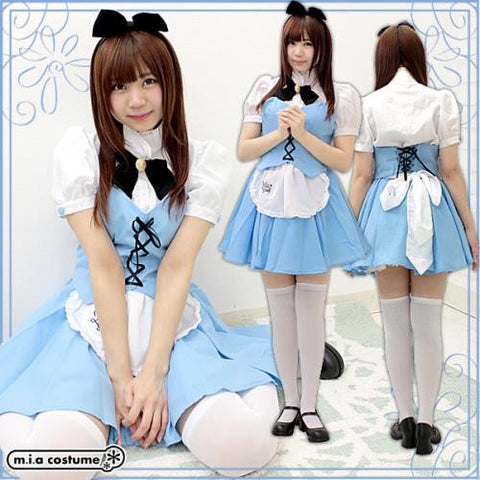 "Maid clothes ""Mia group official products Mia Café mini uniform Alice color"" - JapaneseGoods.jp - 1"