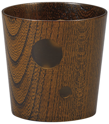 "Drinkware ""Wood of Japan: keyaki tumbler EARTH Fuki Urushi"" - JapaneseGoods.jp - 1"