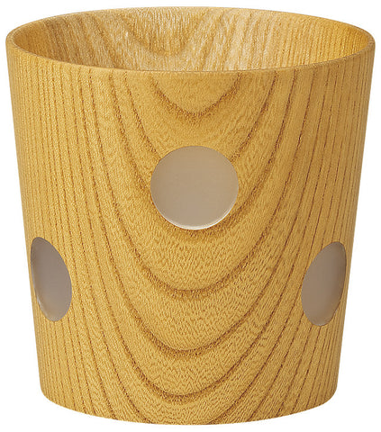 "Drinkware ""Wood of Japan: keyaki tumbler DOT"" - JapaneseGoods.jp - 1"