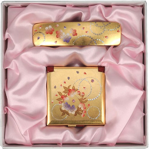 "Assorted Set ""Lacquer Craft Karin set for Women #1 (G)"" - JapaneseGoods.jp - 1"