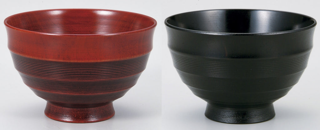"Soup Bowl ""Wooden 3.8 pair soup bowl SAKURA work by Miyatsune"" - JapaneseGoods.jp - 1"