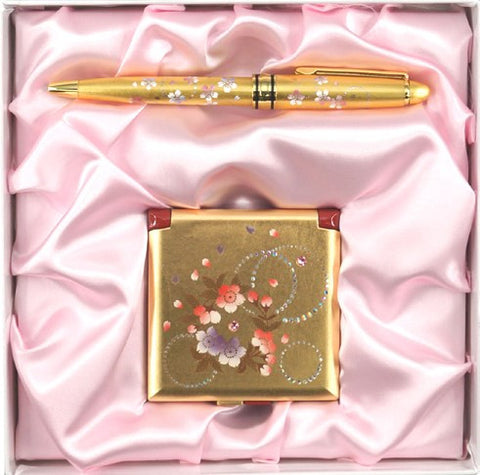 "Assorted Set ""Lacquer Craft Karin set for Women #2 (G)"" - JapaneseGoods.jp - 1"