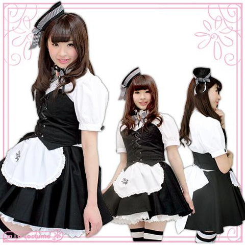 "Maid clothes ""Mia group official products Mia Café & Relaxation uniform mini"" - JapaneseGoods.jp - 1"