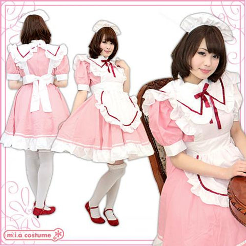 "Maid clothes ""PINK Girl's Maid"" - JapaneseGoods.jp - 1"