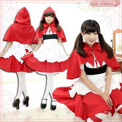 "Maid clothes ""Red Riding Hood"" - JapaneseGoods.jp - 1"